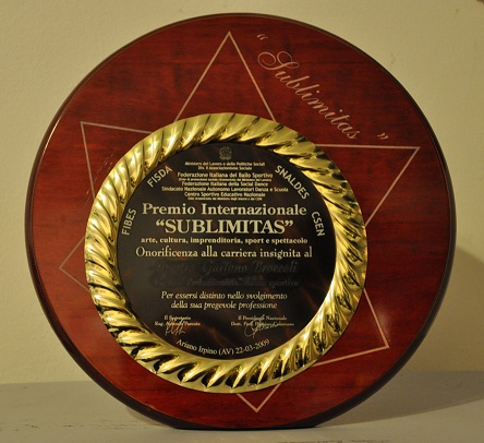 premio sublimitas