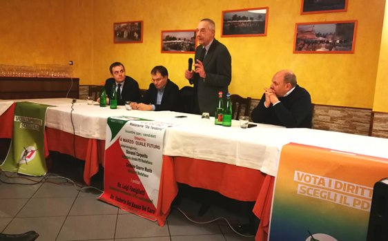 Photo of Elezioni, i candidati Pd incontrano i cittadini di Montefusco