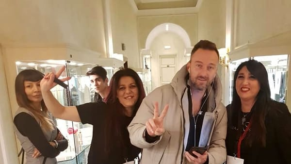 Photo of Sanremo 2018, hair stylist irpina a lavoro con i vip