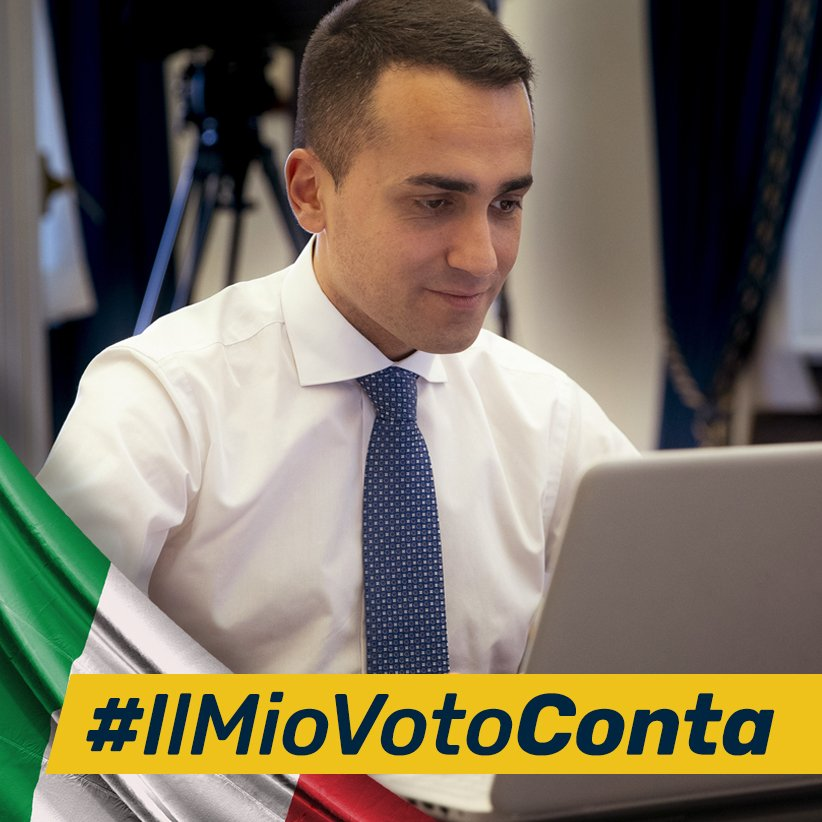 Photo of #iostoconMattarella: Di Maio risponde all'hashtag con #IlMioVotoConta