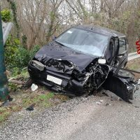 Incidente stradale a Prata