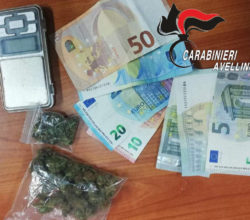 droga-avellino-pusher-spacciare-marijuana-arrestato